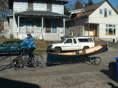 bike trailer w boat
