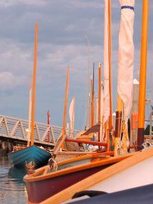 vertical sail oar
