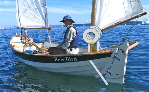 And for some reason nobody gave me the candle boat conversion kit for Row Bird.  Believe it or not, a fellow can get tired of rowing sometimes.