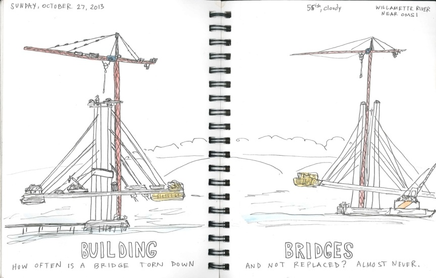 building bridges small