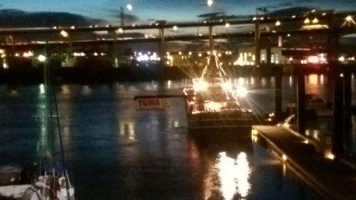 tuna boat night