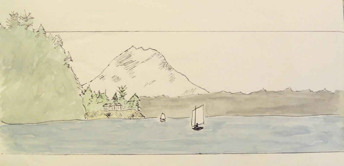 sailing sketches - 1