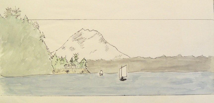 sailing sketches - 1