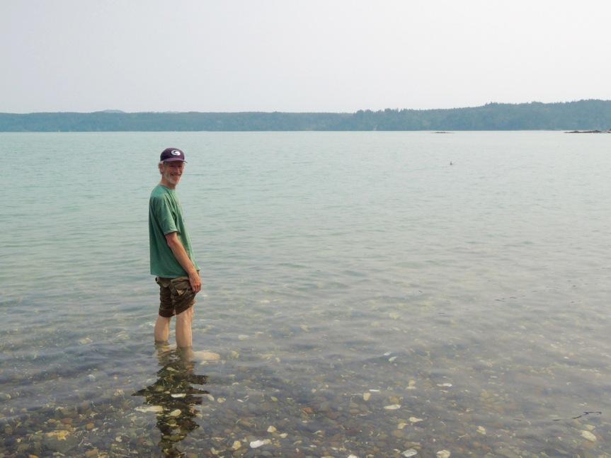 beach wading - 1
